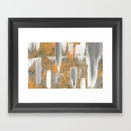 Rust and Decay Framed Art Print