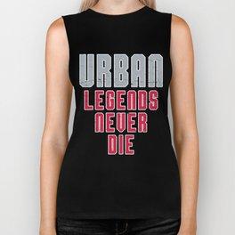 Urban Legends Never Die Football Ohio Pride Vintage Biker Tank