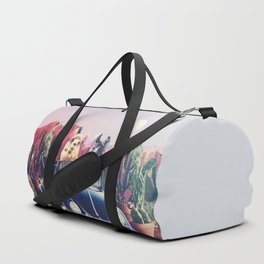 Llamas on the road Duffle Bag