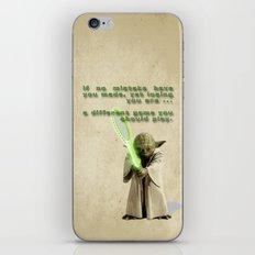 Yoda Squasher  iPhone & iPod Skin