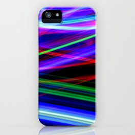 Disco Lights iPhone Case