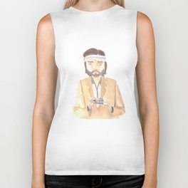 Richie Tenenbaum Watercolor Biker Tank