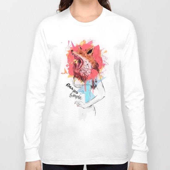 Animal Instincts Fox Long Sleeve T-shirt