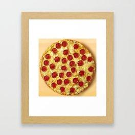 Who Wants Pizza? Framed Art Print