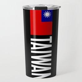 Taiwan: Taiwanese Flag & Taiwan Travel Mug