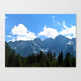 tatry  mountains Canvas Print