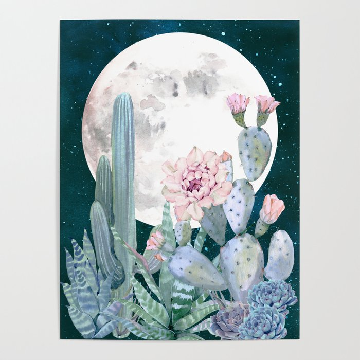 Desert Nights by Nature Magick Poster