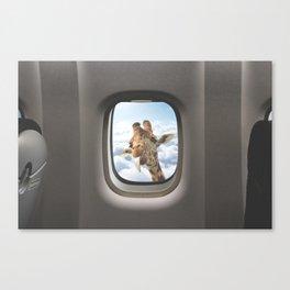 Funny Giraffe  Canvas Print