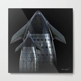 Starship Render 4 Metal Print