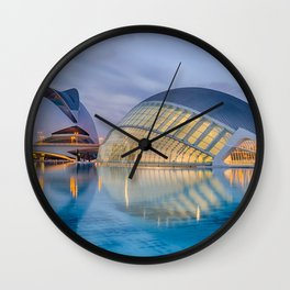 C A L A T R A V A | architect | City of Arts and Sciences III Wall Clock
