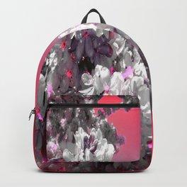 Flowers Purple Fuchsia Hot Pink Backpack