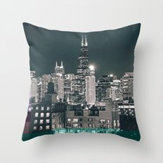 Chicago | Project L0̷SS   Throw Pillow