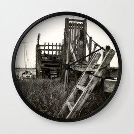 Rickety old Jetty Wall Clock