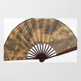 Japanese fan Rug