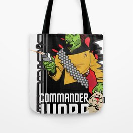 ZOMBIE WORF Tote Bag