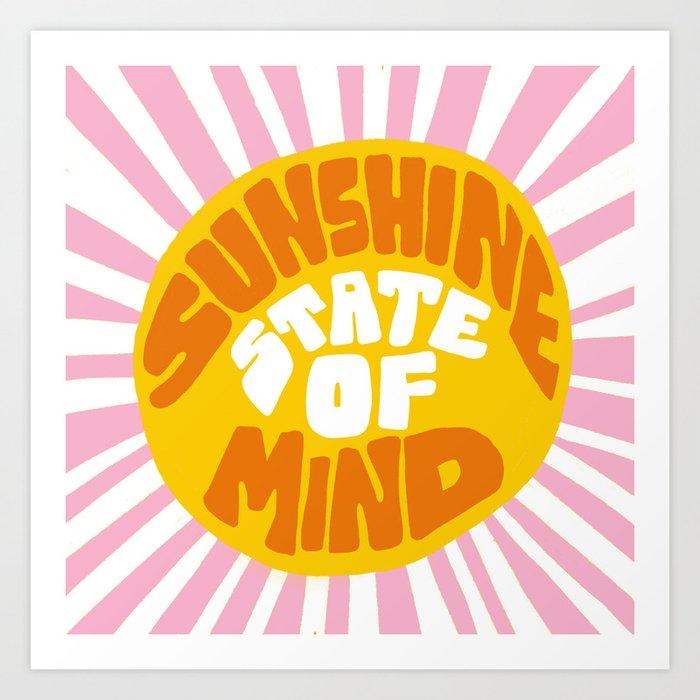 Sunshine Vibes Kunstdrucke