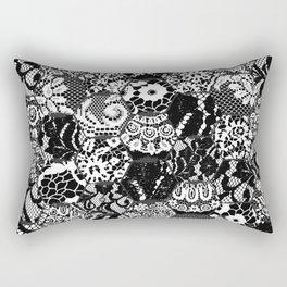 gothic lace Rectangular Pillow