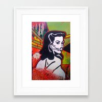 bond Framed Art Prints featuring bond by jasondavis