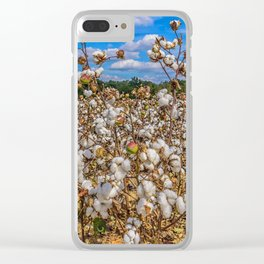 Sea of Cotton Clear iPhone Case