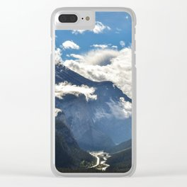 Early Morning Icefields Parkway Clear iPhone Case