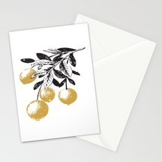 Golden Berries Stationery Cards