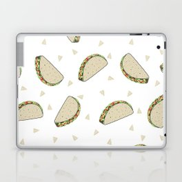 Tacos pattern food art taco design dorm college foodie Laptop & iPad Skin