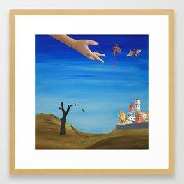 Giotto's Tree Framed Art Print