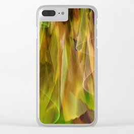 Idea For A Gracious Dress Clear iPhone Case