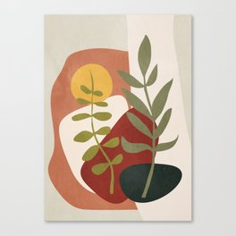 Two Abstract Branches Canvas Print
