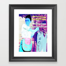 Happy Housewife Framed Art Print