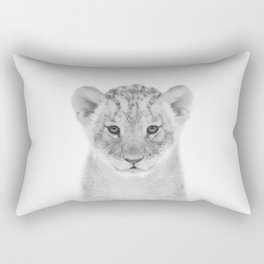 Baby Lion Rectangular Pillow