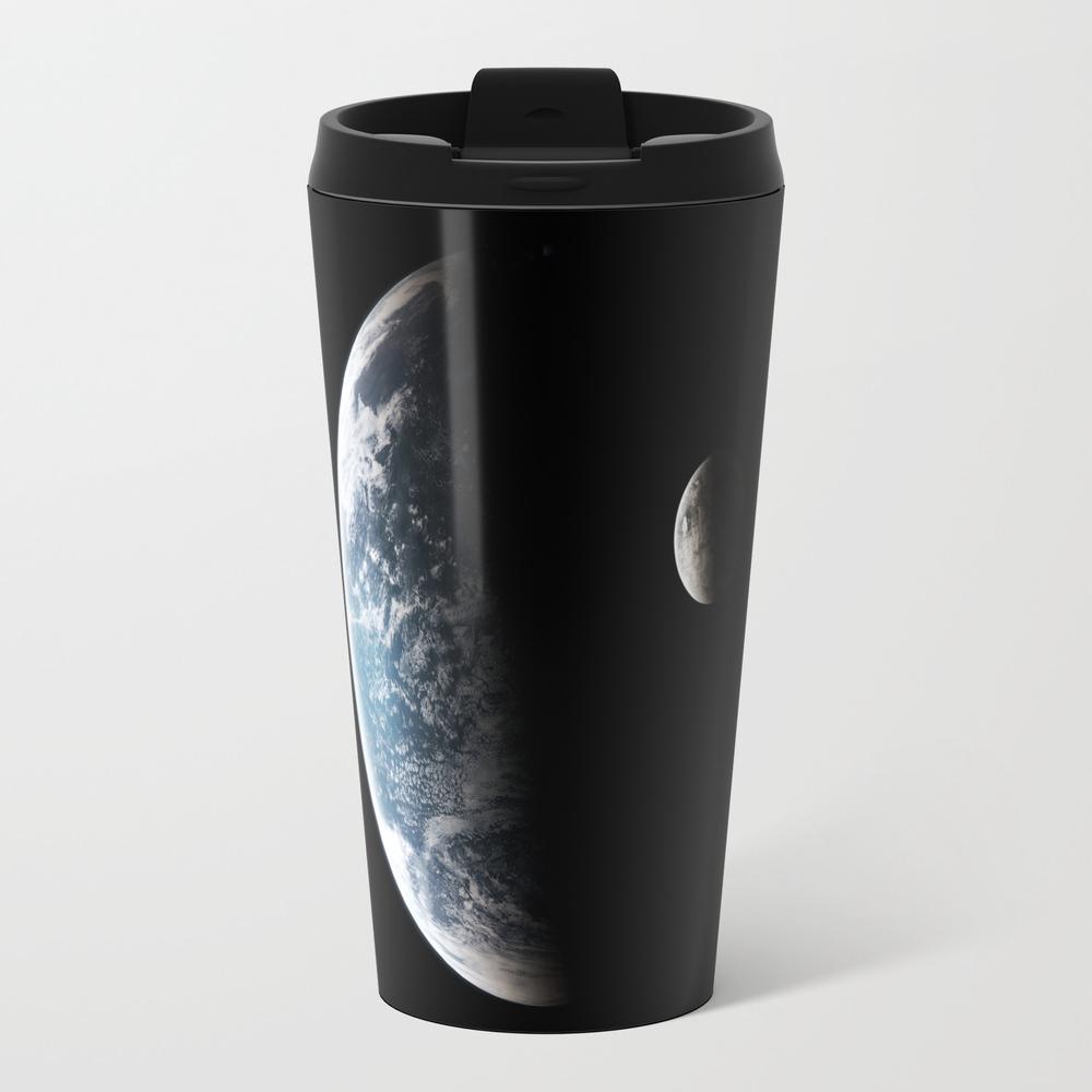 Blue Planet Metal Travel Mug by Alex_fry MTM8718509