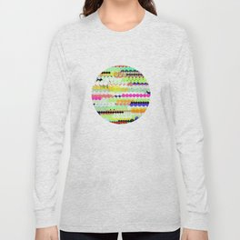 colorful abstract design Long Sleeve T-shirt