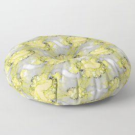 Abstract form of life Floor Pillow