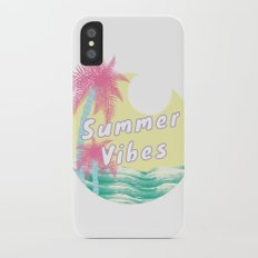 Summer Vibes iPhone X Slim Case