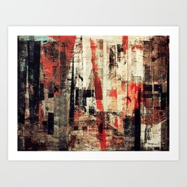 """""""Messages"""" Inspired by the Bobby McFerrin music. Art Print"""