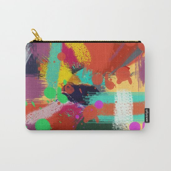 Color clock Carry-All Pouch