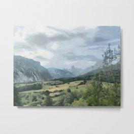 Pico de Europas, Asturia Spain Metal Print