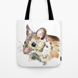 Little Brown Mouse Tote Bag