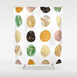 Modern geometry XIX Shower Curtain