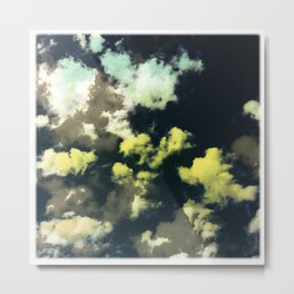 Puffy Clouds Metal Print