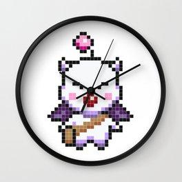 Moogle Pixel Wall Clock