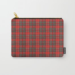 Vintage Plaid Lunchbox Carry-All Pouch