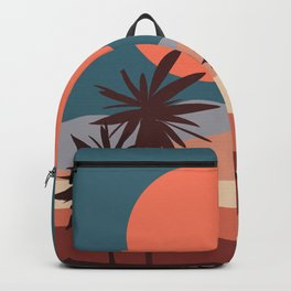 Abstract Landscape 13 Portrait Backpack