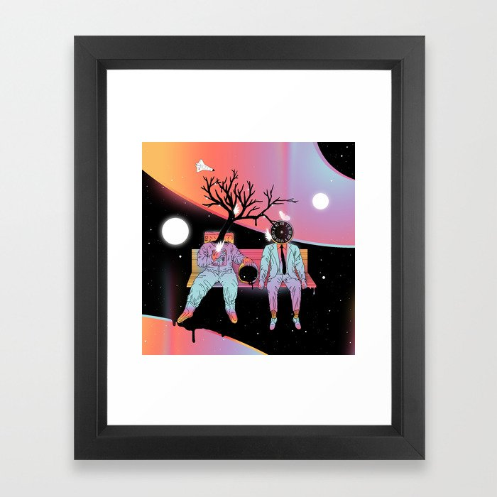 Coexistentiality (Sustaining Life) Framed Art Print