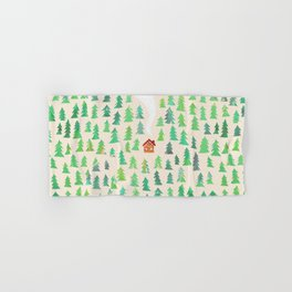 Alone in the woods Hand & Bath Towel