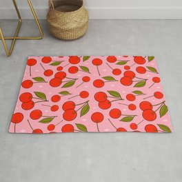 Cherries on Top Rug
