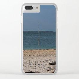 Gone Fishing on Boca Grande Clear iPhone Case