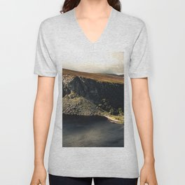 Irish Black Water - Lough Tay Unisex V-Neck
