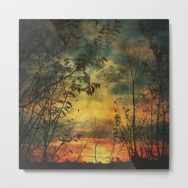 Last Light of Day Metal Print